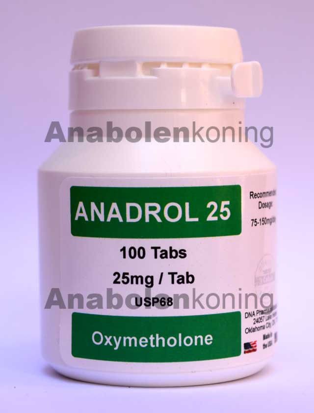 DNA Anadrol 25 mg/pil