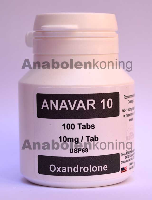 DNA Anavar 10 mg/pil