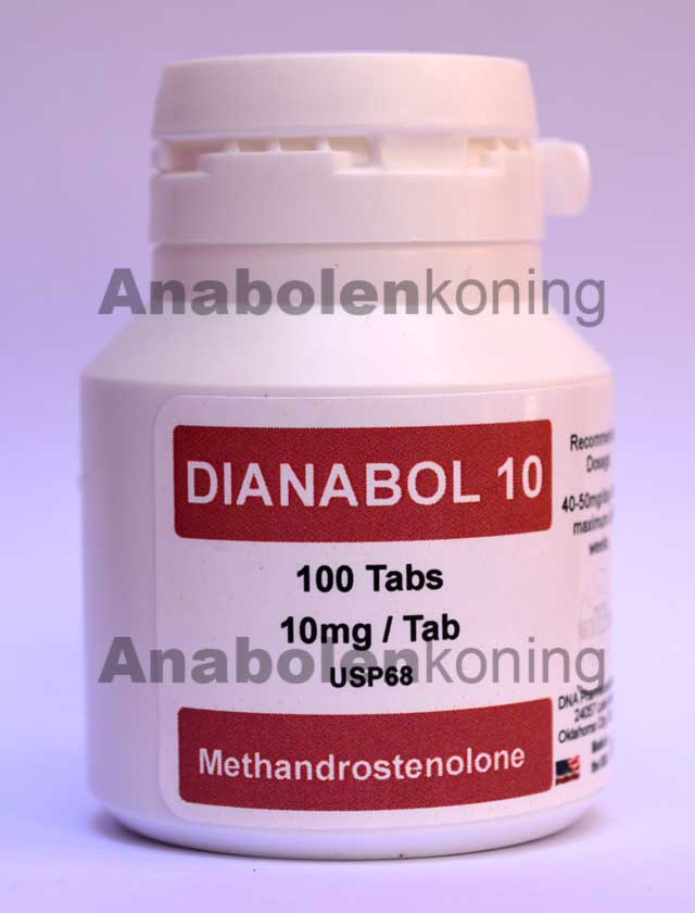 DNA Dianabol 10 mg/pil