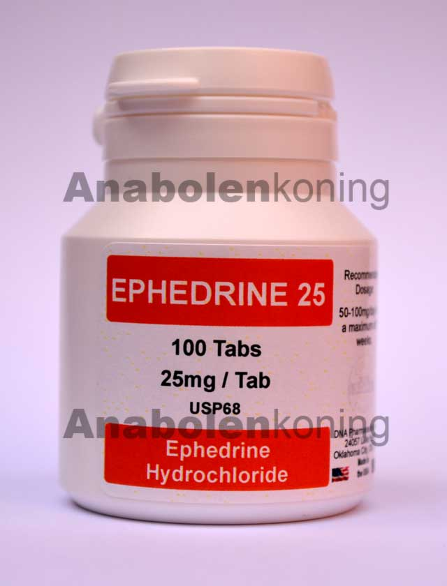 DNA Ephedrine 25 mg/pil