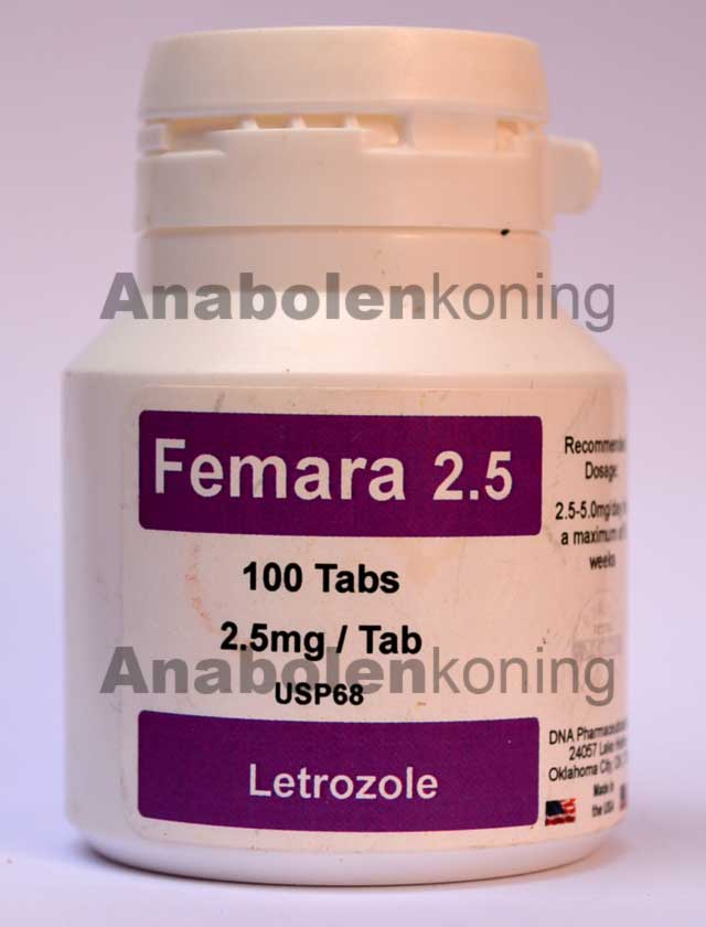 DNA Femara 2.5 mg/pil