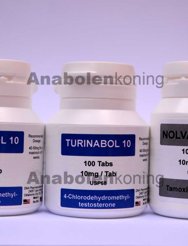 DNA Turinabol-only kuur
