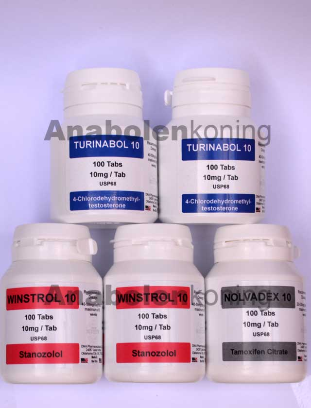 DNA Turinabol - Winstrol kuur